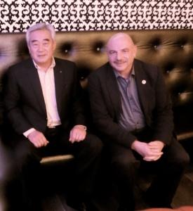 Dr. Choue & me karoke