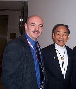 Master Vitale, GM Jhoon Rhee & Korean Ambassaodr Oh Jon at the UN Mission - Version 2